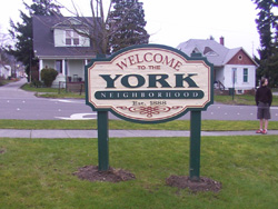 York neighborhood